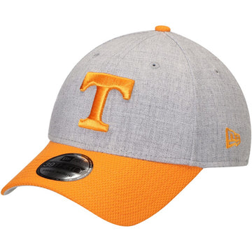 New Era NCAA Tennessee Volunteers Adult Change Up Redux Low Profile 59FIFTY Fitted Cap, 7 5/8, Heather Gray