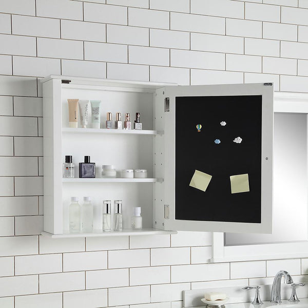 Home Decorators Collection 22 in. x 26 in. Surface Mount Medicine Cabinet in White
