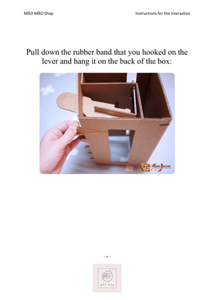 Interactive Cardboard Cat Punch - MĀO MĀO Shop