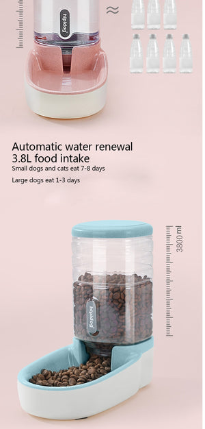 The Trevi Fountain (mechanical food and water dispensers) - MĀO MĀO Shop