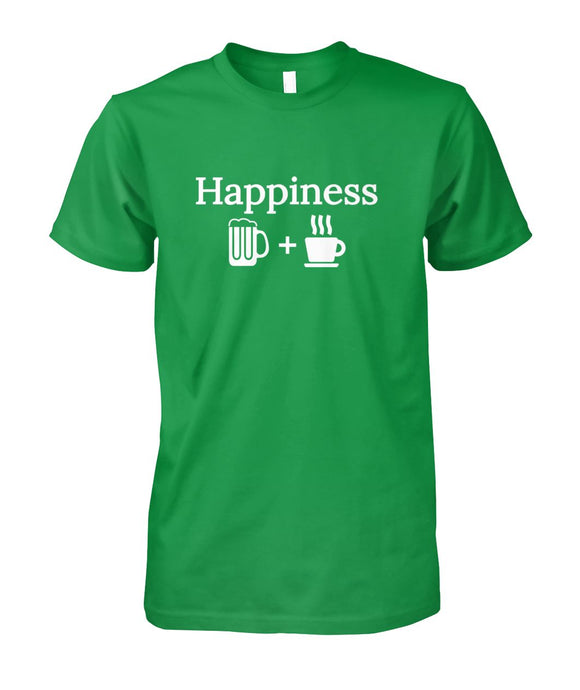Happiness is beer & coffee