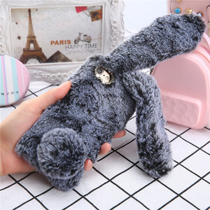 Fluffy Plush Cell Phone Cases