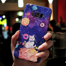 Load image into Gallery viewer, 3D Emboss Cute Cases For Samsung Note 9 8 Soft TPU Cover