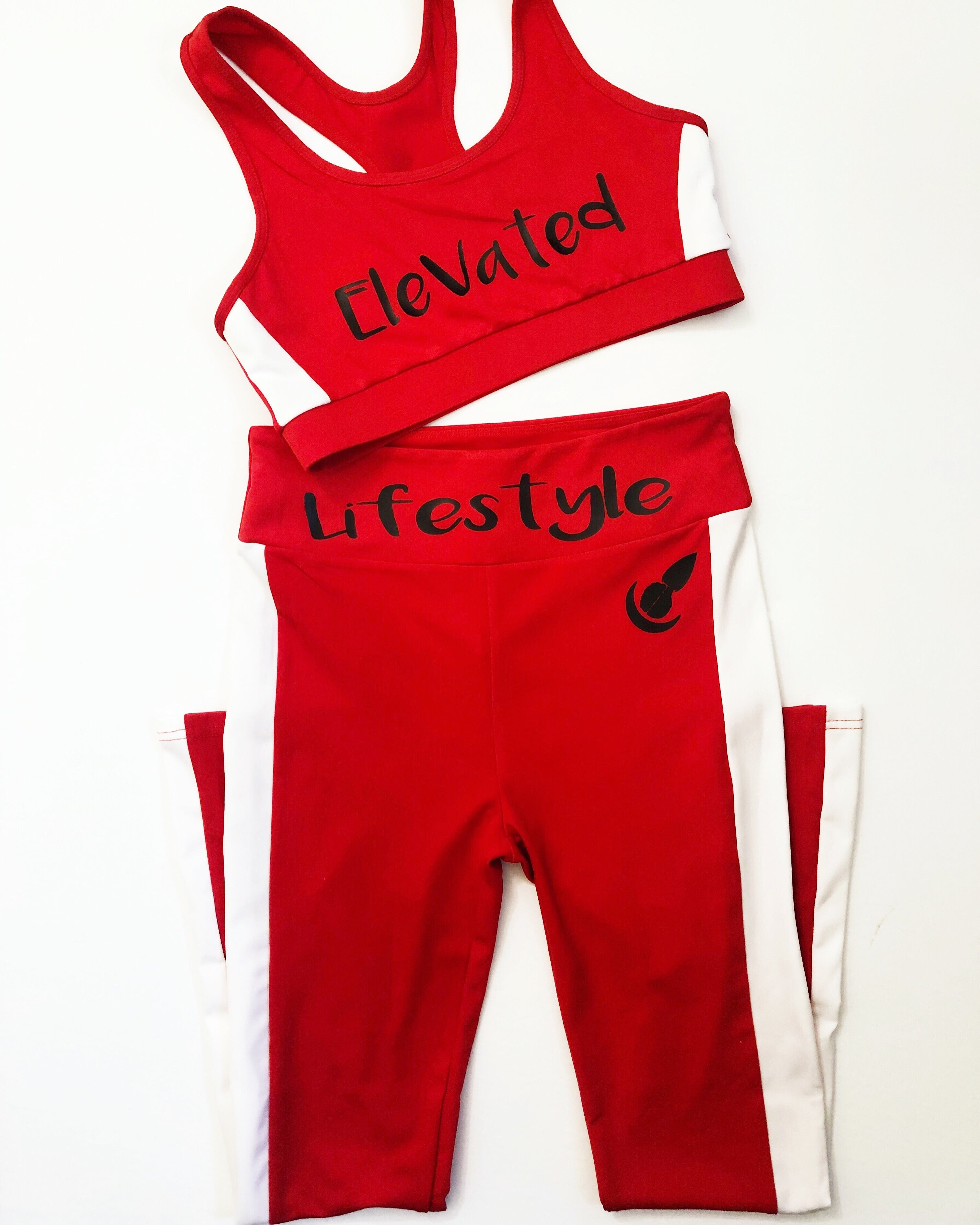 Elevated Lifestyle (Red) 2-Piece