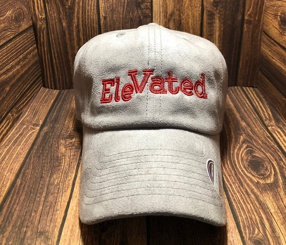 Grey EleVATED Suede Hat