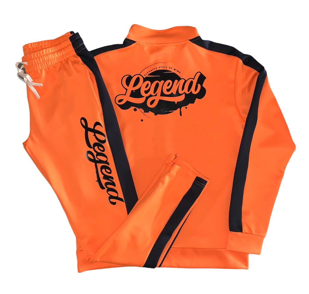 Orange Legendary Tracksuit