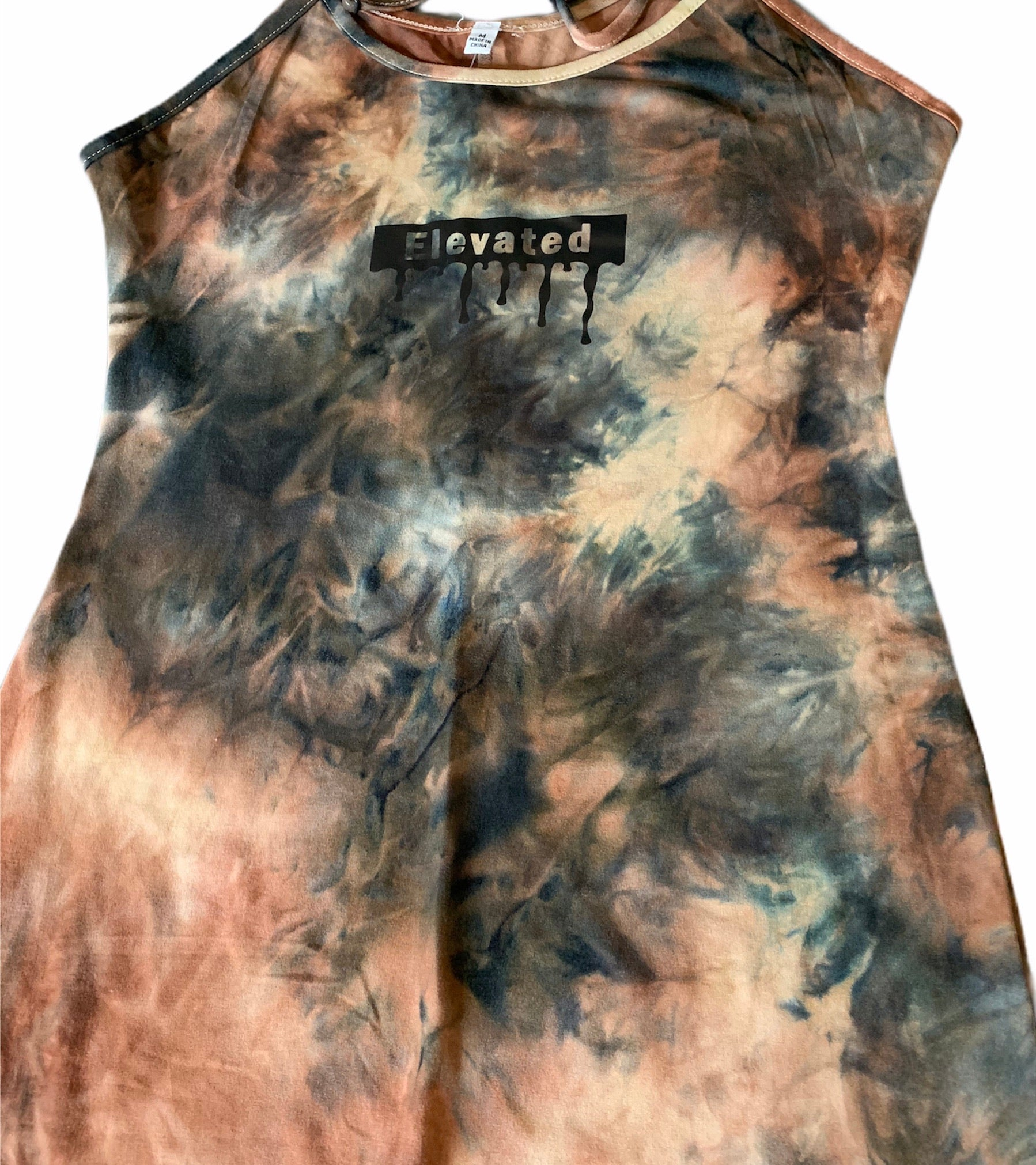 Elevated Tie-Dye Romper