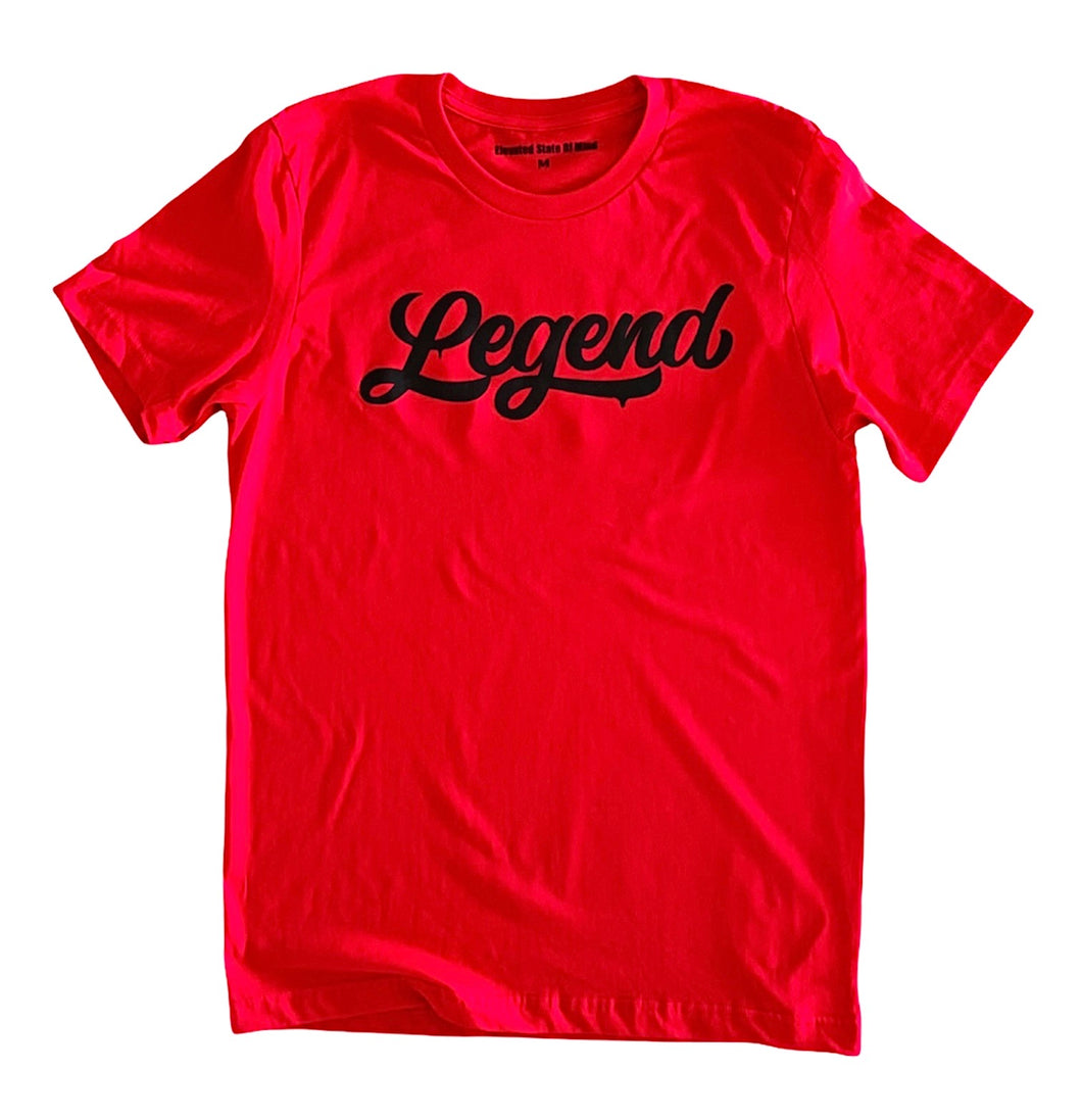 Red LEGENDARY T-shirt