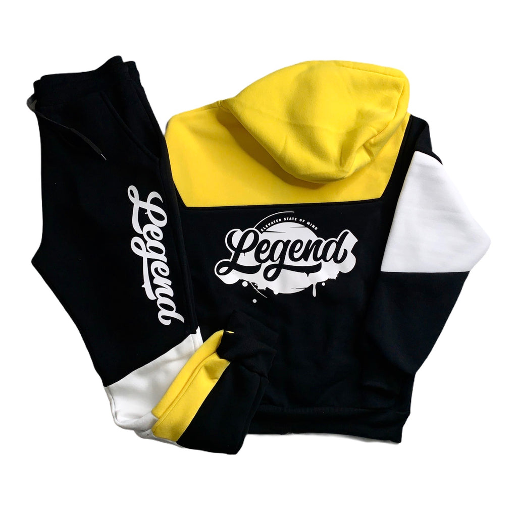 Legendary Fleece Set (Yellow/Black) -