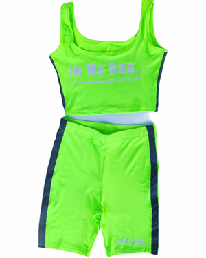 In My Bag (Green) Reflective 2 piece
