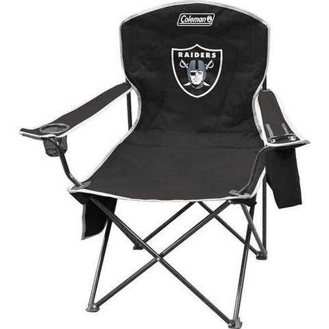 Oakland Raiders Chair XL Cooler Quad