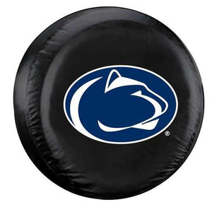 Penn State Nittany Lions Black Tire Cover Standard Size