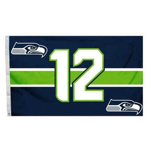 Seattle Seahawks Flag 3x5 12th Man