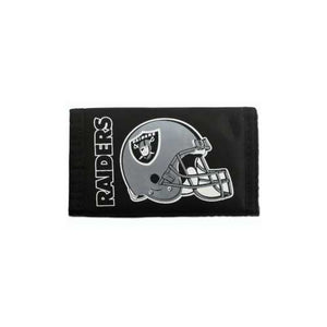 Oakland Raiders Wallet Nylon Trifold