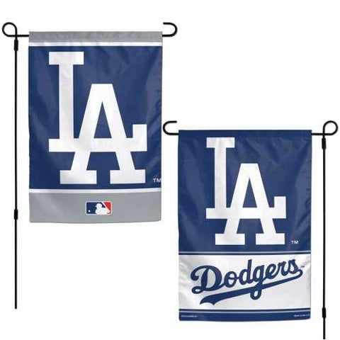 Los Angeles Dodgers Flag 12x18 Garden Style 2 Sided