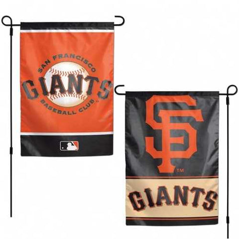 San Francisco Giants Flag 12x18 Garden Style 2 Sided