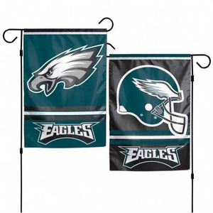 Philadelphia Eagles Flag 12x18 Garden Style 2 Sided