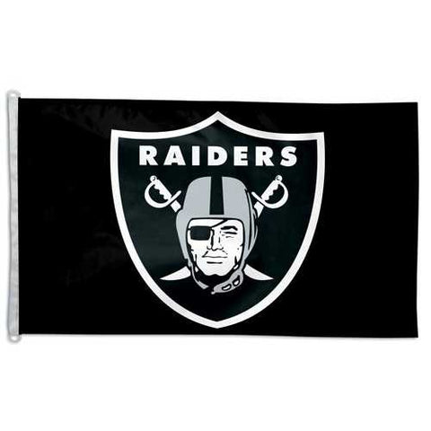 Oakland Raiders Tailgate 3x5 Flag