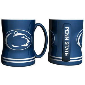 Penn State Nittany Lions Coffee Mug 14oz Sculpted Relief