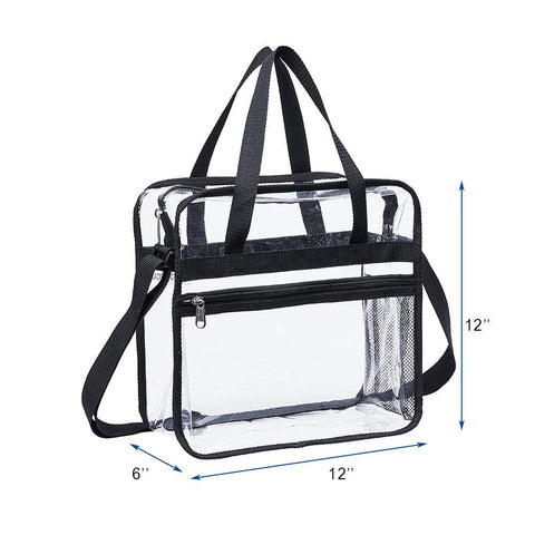 Clear Stadium Approved Bag