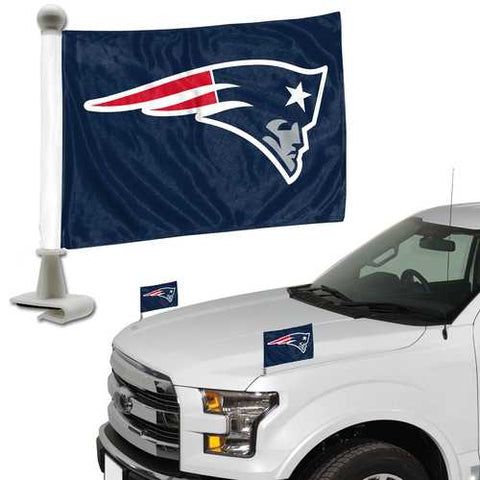 New England Patriots Flag Set 2 Piece Ambassador Style