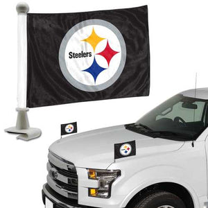 Pittsburgh Steelers Flag Set 2 Piece Ambassador Style