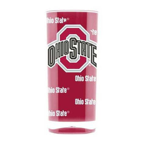 Ohio State Buckeyes Tumbler Square Insulated 16 oz