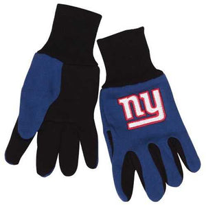 New York Giants Two Tone Youth Size Gloves