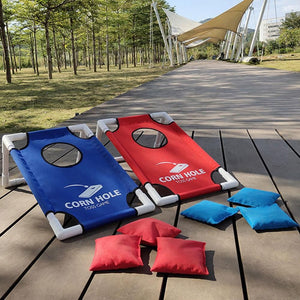 Portable Cornhole Game for Tailgating