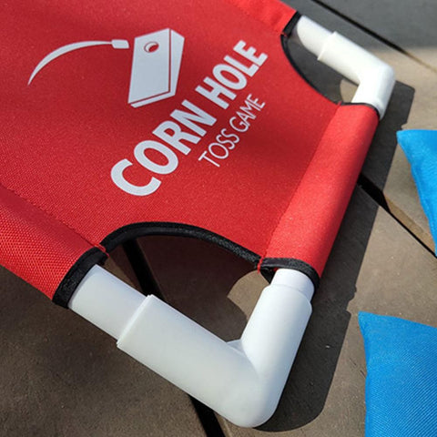 Image of Portable Cornhole Game for Tailgating