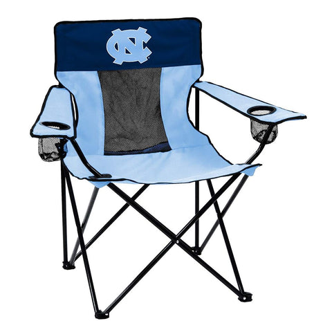 Image of Collegiate Folding Elite Chair with Mesh Back and Carry Bag