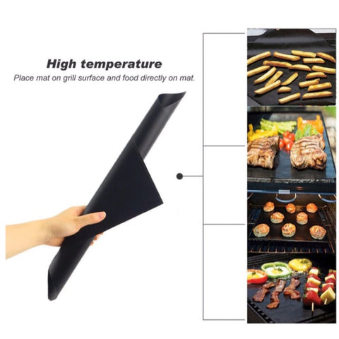 Reusable Non-stick Grill Mat - 3pc