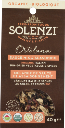 Organic Italian Sun-dried Vegetables  & Spice Mix