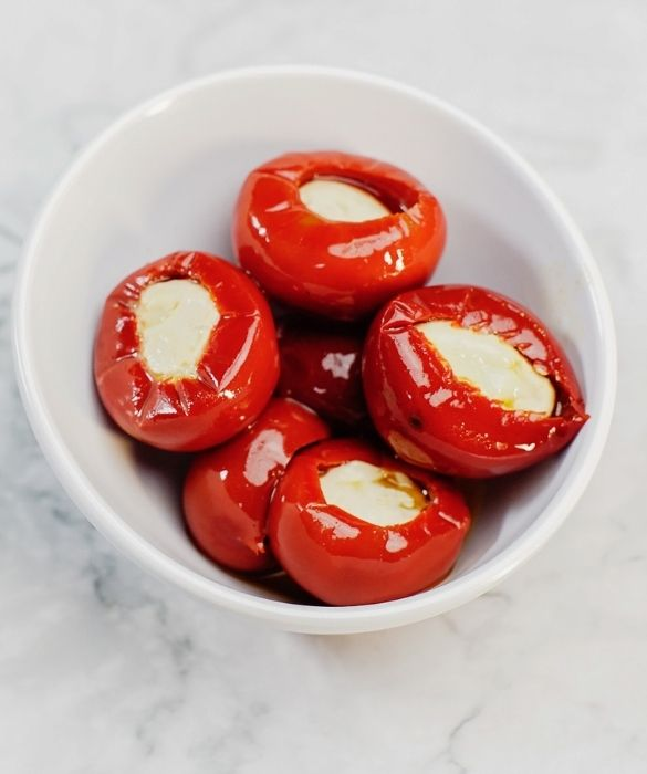 Cherry Peppers with Goat Cheese  280g - Solenzi