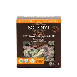 Organic Beetroot, Spinach & Rice Fusilli 227g