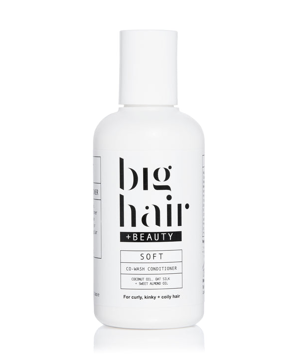 Big Hair Travel Size SOFT Co-wash Conditioner for curly and afro hair