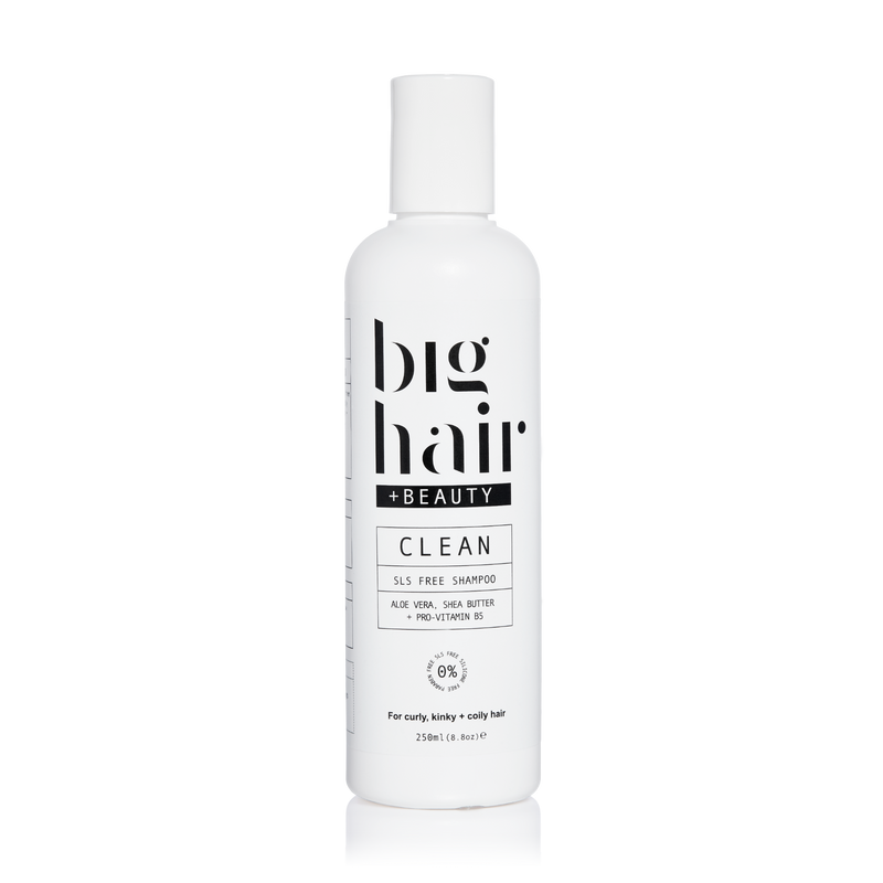 CLEAN SLS Free Shampoo for curly and afro hair