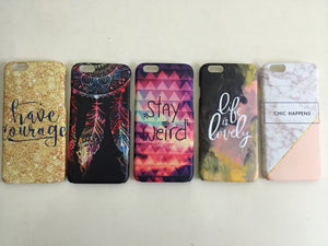 Set of 5 Designer Cases