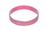 Breast Cancer Awareness Band - Light Pink