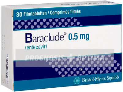 Бараклюд® / Baraclude® 0.5mg | 1mg / 30 tabl