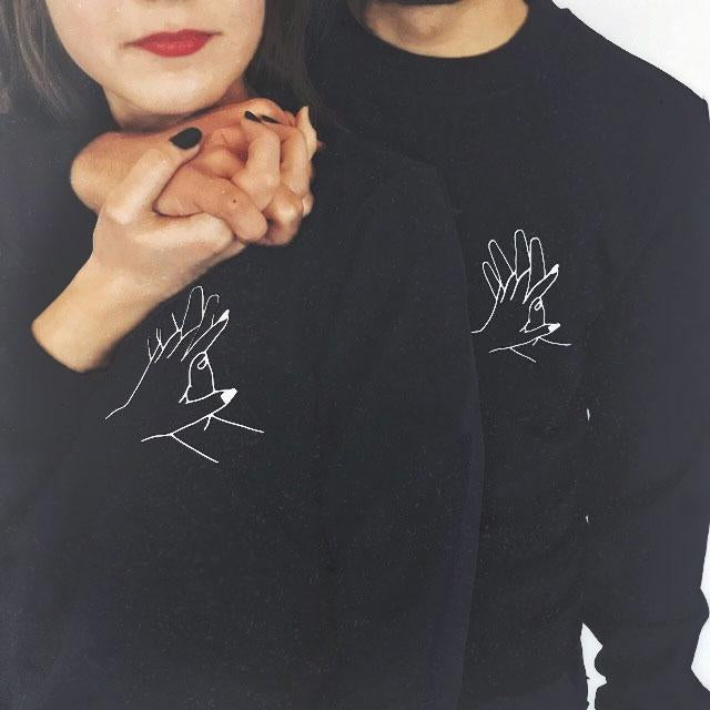 Sweatshirt Couple Hoodies