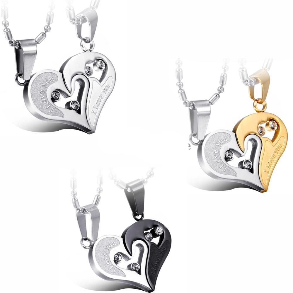 Entwined Heart Necklaces -Love