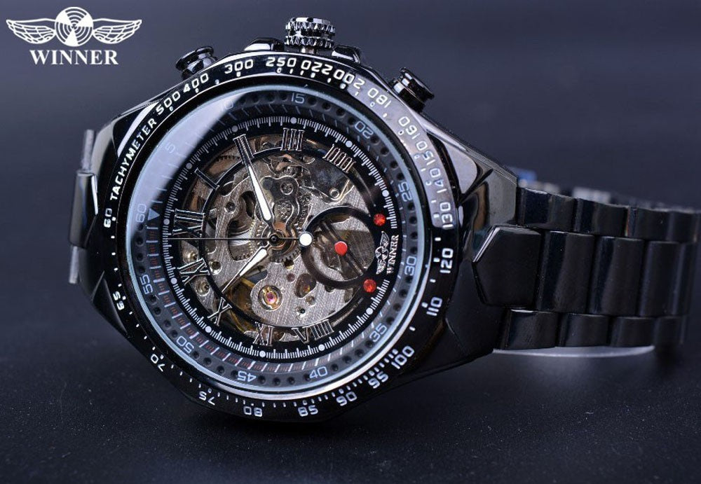 Sport  Skeleton  Mens Watch
