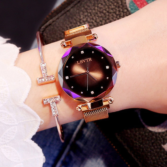 Luxury Rose Women Watch