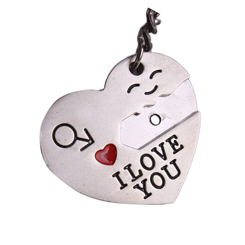 I Love You Couple Keyring