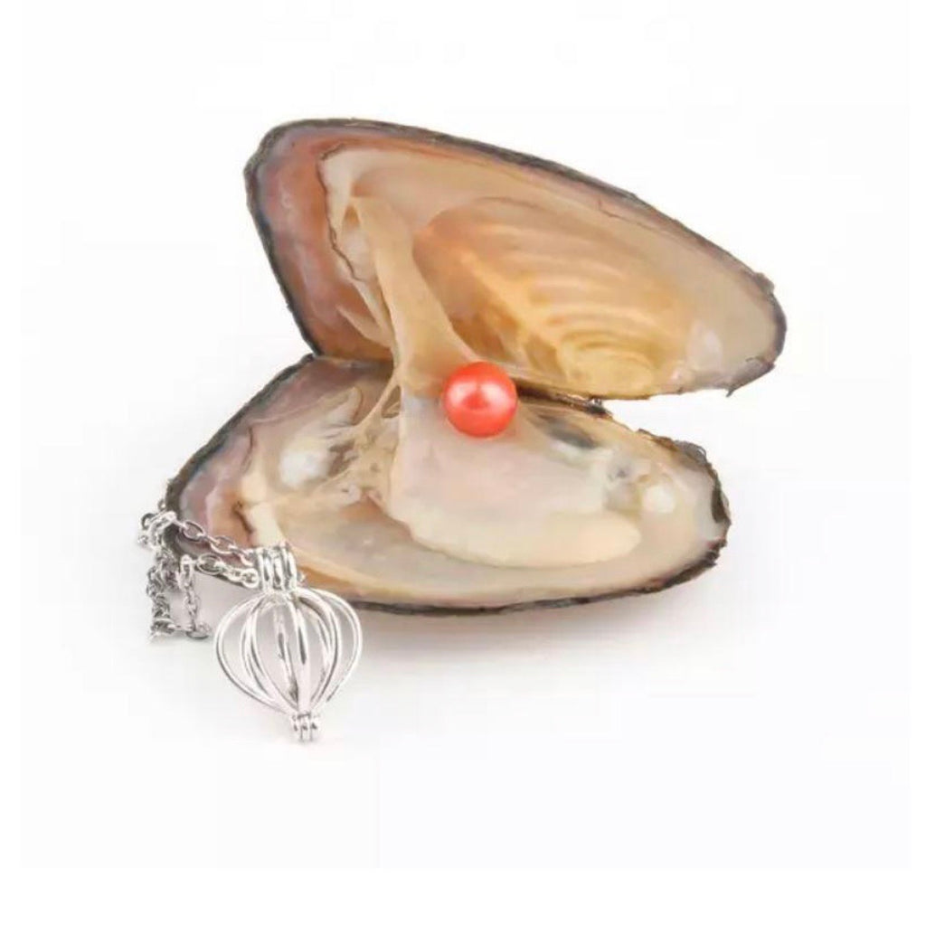 Natural Oyster Pearl Necklace