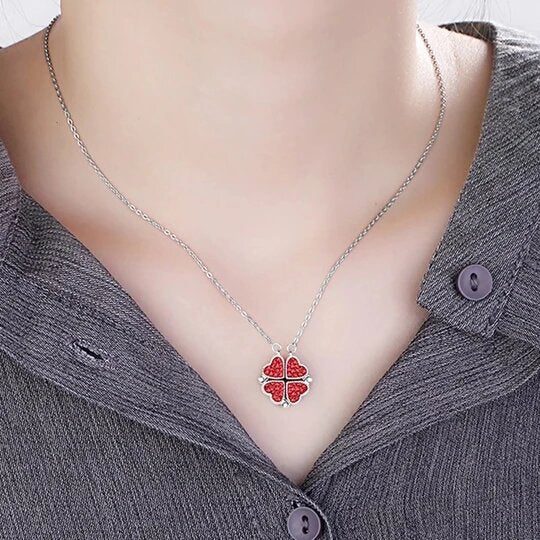 HEART CRYSTAL NECKLACE