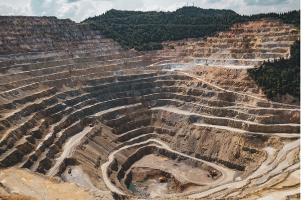 Mining leaves scars on the landscape and destroys ecosystems