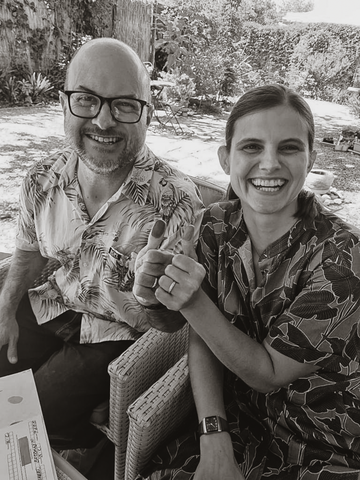 Auterra Couples, an intimate wedding ceremony with sustainable, eco-friendly recycled gold wedding bands