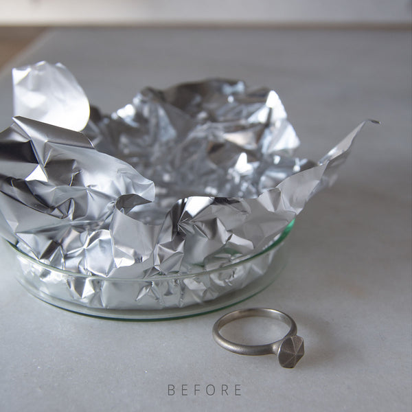 Eco friendly methods to remove tarnish from your silver jewellery